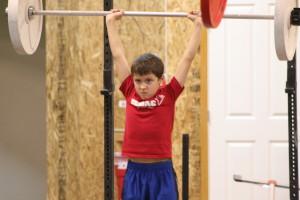 kid weight lifting